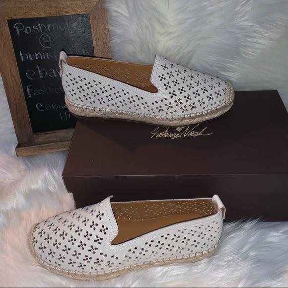 Patricia Nash soft leather espadrilles